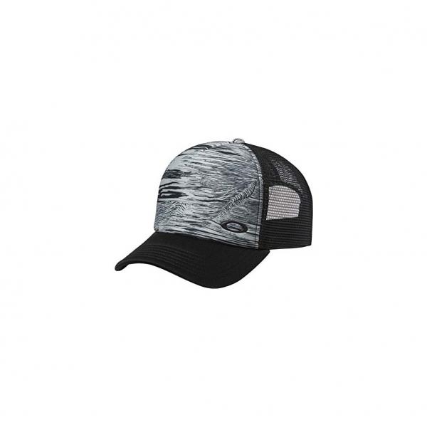 f0cf21ef736574 MESH SUBLIMATED TRUCKER CAP BLACKOUT